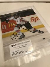 Cassie Campbell authentic signed autographed 8x10 photograph Frameworth Coa
