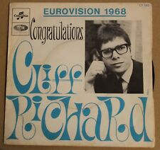 Cliff Richard, congratulations - eurovision 1968 / high 'n' dry, SP - 45 tours