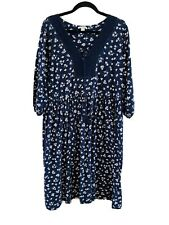 Monsoon  Size 18 Jersey Floral Dress Lovely