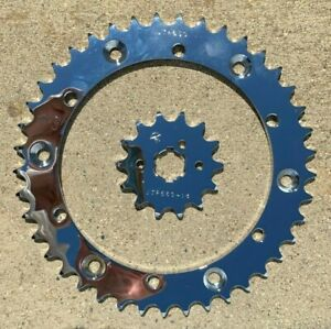 Yamaha Chrome Sprocket  Banshee Custom Chrome Set