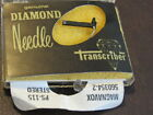 MAGNAVOX DIAMOND REPLACEMENT NEEDLE PS-115 FOR 560354-2 AS-IS