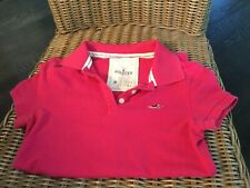 Hollister Womens Polo Shirt M