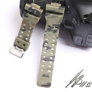 16mm Resin Watch Band Strap Fit For Casio G-Shock GA-700 710 735 Pin Buckle New