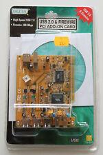 Digitus USB 2.0 & Firewire 400 PCI Add-On Karte