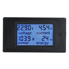 Digital Multimeter LCD Display DC 6.5-100V 0-20A Gauge Voltage Current Meter KWh
