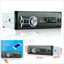 Car 1Din 4 Channel RCA Output Bluetooth Stereo MP3 Player Support AUX/USB/FM/TF