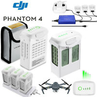DJI Phantom 4 Pro / Adv Intelligent LiPo Battery / Charger 5870mAh / 5350mAh USA