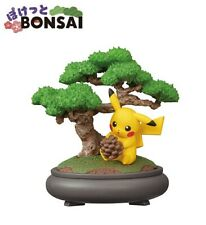RE-MENT Pokemon Pocket Bonsai Mini Figure Diorama Toy #1 Pikachu Pine Tree Plant