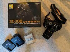 Nikon D5300 24.2 MP Digital SLR Camera VR Kit - ONLY 4135 CLICKS!