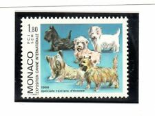 Monaco Fauna Perros serie del año 1986 (BW-732)