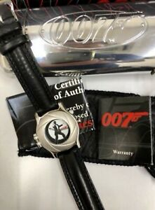 James Bond 007 FOSSIL Watch Limited Edition Complete with Certification