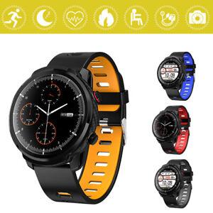 Sports Smart Watch IP68 Waterproof Bluetooth Heart Rate Running Swimming GPS D