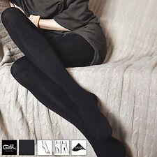 Gatta Damen Strumpfhose Dicke Weiche Warme Blickdichte aus Kaschmirwolle S M L