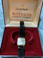 Vintage Wittnauer Women's Watch 10k Gold Filled With Box
