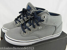 Globe Skating Skateboarding Shoes - Motley Mid - Gray Size 7 Excellent Cond