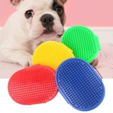 Dog Cat Bath Brush Rubber Glove Hair Fur Grooming Massage Pets Supplies