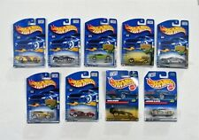 Hot Wheels Cars Lot of 9 1998-2001 Mattel Jaguar Cougar 2001 2002 First Editions