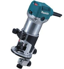 Makita Rt0700cx4/1 110v Router/ Laminate Trimmer With Guide Power Tool