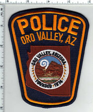 Oro Valley Police (Arizona) purple background Shoulder Patch