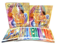 The Angel Tarot Includes a Full Deck of 78 Specially Commission | Wallace Jayne