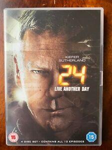 24 Live Another Day DVD Box Set 2014 Thriller TV Series w/ Kiefer Sutherland