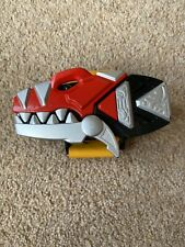 Power Rangers Dino Thunder Morpher And Red Faceplate