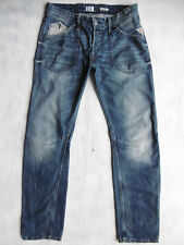 Replay Resco MA911A straight aged blue Denim Jeans Hose W31/L34 1AZust °924