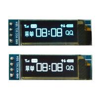 """0.91"""" IIC I2C SPI OLED LCD Display 128x32 Serial 3.3V/5V AVR PIC STM32 Arduino"""