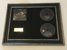 PERSONALLY SIGNED/AUTOGRAPHED BIFFY CLYRO MTV UNPLUGGED FRAMED CD PRESENTATION