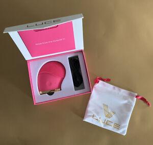 LUCE 180 Facial Cleanser & Anti-Aging Device ~ NIB/FUCHSCIA ~ RV $110!!