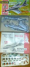 REPUBBLICA Thunderstreak f-84-f FALLER 1084 AMS 1:100 Kit di costruzione