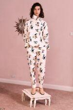 Nueva Blusa de impresión Stella McCartney Runway Dandy Top Camisa £ 495 2018 agotado