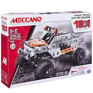 Meccano 10 in 1 Model Race Truck Set 6036038 Brand NEW & Boxed
