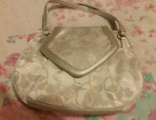 Woman's Playboy Silver hand bag☆Small  size ☆New☆
