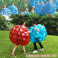 PVC Body Inflatable Bubble Ball Kids Impact Toy Soccer Football Outdoor Sport