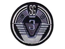 Stargate SG1 ecusson SG3 avec scratch stargate SG3 hook & loop team patch