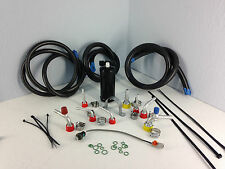 A/C KIT UNIVERSAL UNDER DASH HOSE KIT WITH PRESSURE SWICH AND FILTER DRIER