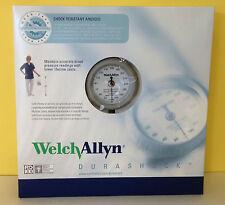 Welch Allyn Durashock Aneroid Sphygmomanometer Blood Pressure Cuff DS44-11 - NIB