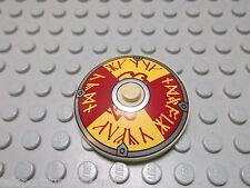 Lego 1 Radar Schüssel 4x4 tan beige bedruckt dunkelrot silber 3960pb015 Set 7020