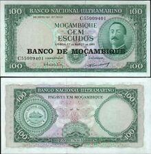 MOZAMBIQUE Billet neuf de 100 Escudos Pick117 ORNELAS Grand voilier 1976
