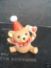 Hallmark Merry Miniatures 1986 Clown Teddy Bear