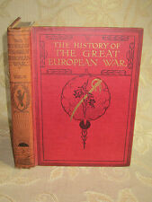 Antique Collectable Book The History Of The Great European War Vol. V, - c1920
