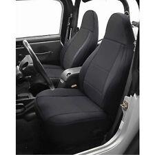 1997-2002 Jeep Wrangler Neoprene Front & Rear Seat Covers Black