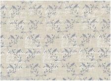 Tela 100 % Lino - Patchwork, Cartonaje, Saco, Deco - Se vende por 20 cm - Letras