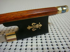 Gold Mounted/Top Pernambuco Violin Bow Ebony Forg-Sword