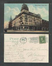 1912 BOODY HOUSE TOLEDO OHIO POSTCARD