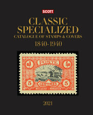2021 SCOTT Classic Specialized Catalogue Of Stamps And Covers 1840-1940