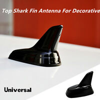 Universal Fit Car Style Roof Top Dummy Decoration Shark Fin Antenna Black
