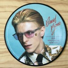 "DAVID BOWIE WHO CAN I BE NOW IT'S HARD TO BE A SAINT IN THE CITY 7"" PICTURE DISC"