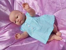 jolie robe bébé naissance occasion compatible avec poupée reborn 48cm